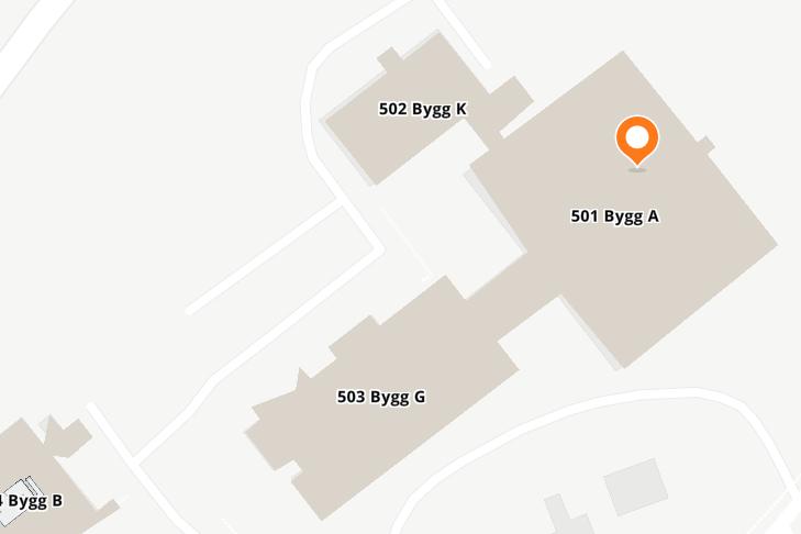 Kart Gløshaugen