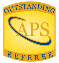 Outstanding Referees Program, American Physical Society (APS)