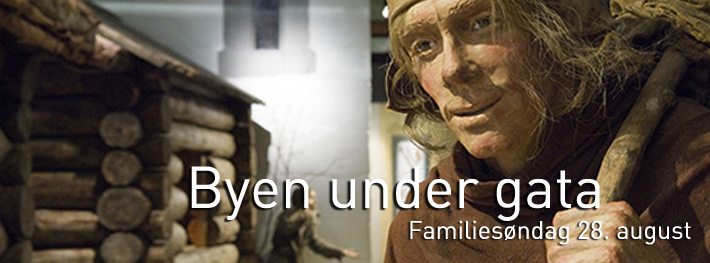 Byen under gata - Familiesøndag 28. august