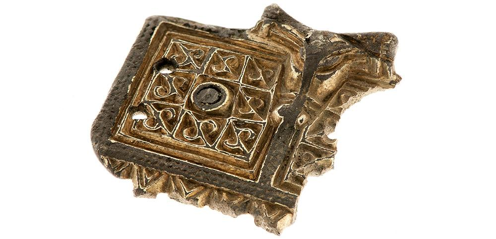 Part of brooch from the Iron Age.