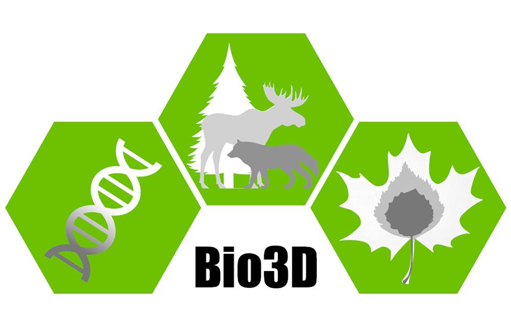 Bio3D logo
