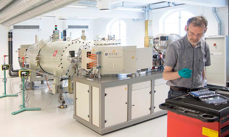 Bilde fra laboratoriet
