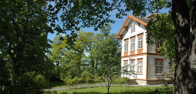 Hovedbygningen på Ringve. Foto: Ane S. Guldahl.