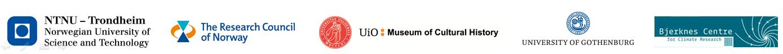 Logo for all involved institutions.