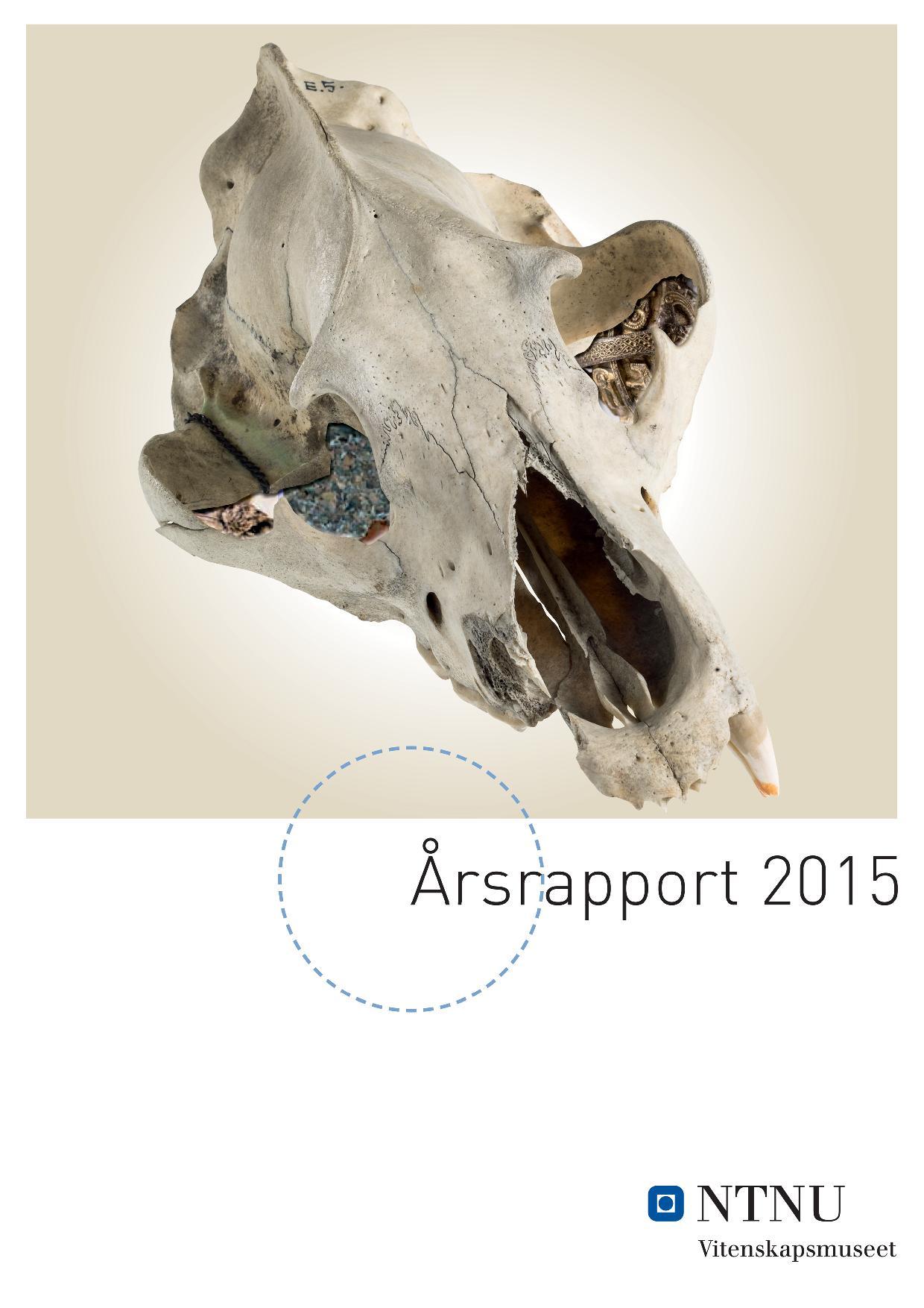 NTNU Vitenskapsmuseet Årsrapport 2015