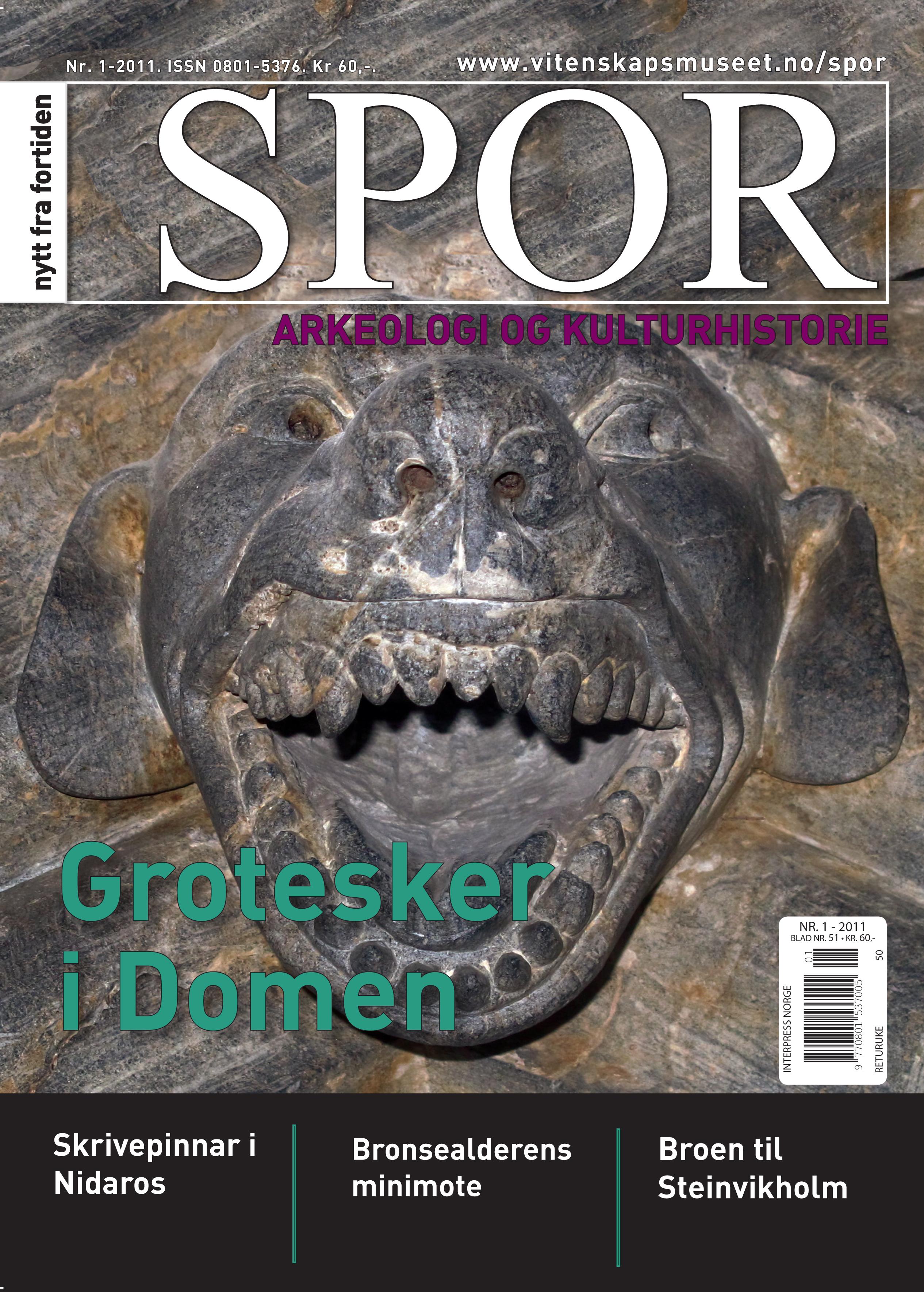 Forside Spor nr 1-2011