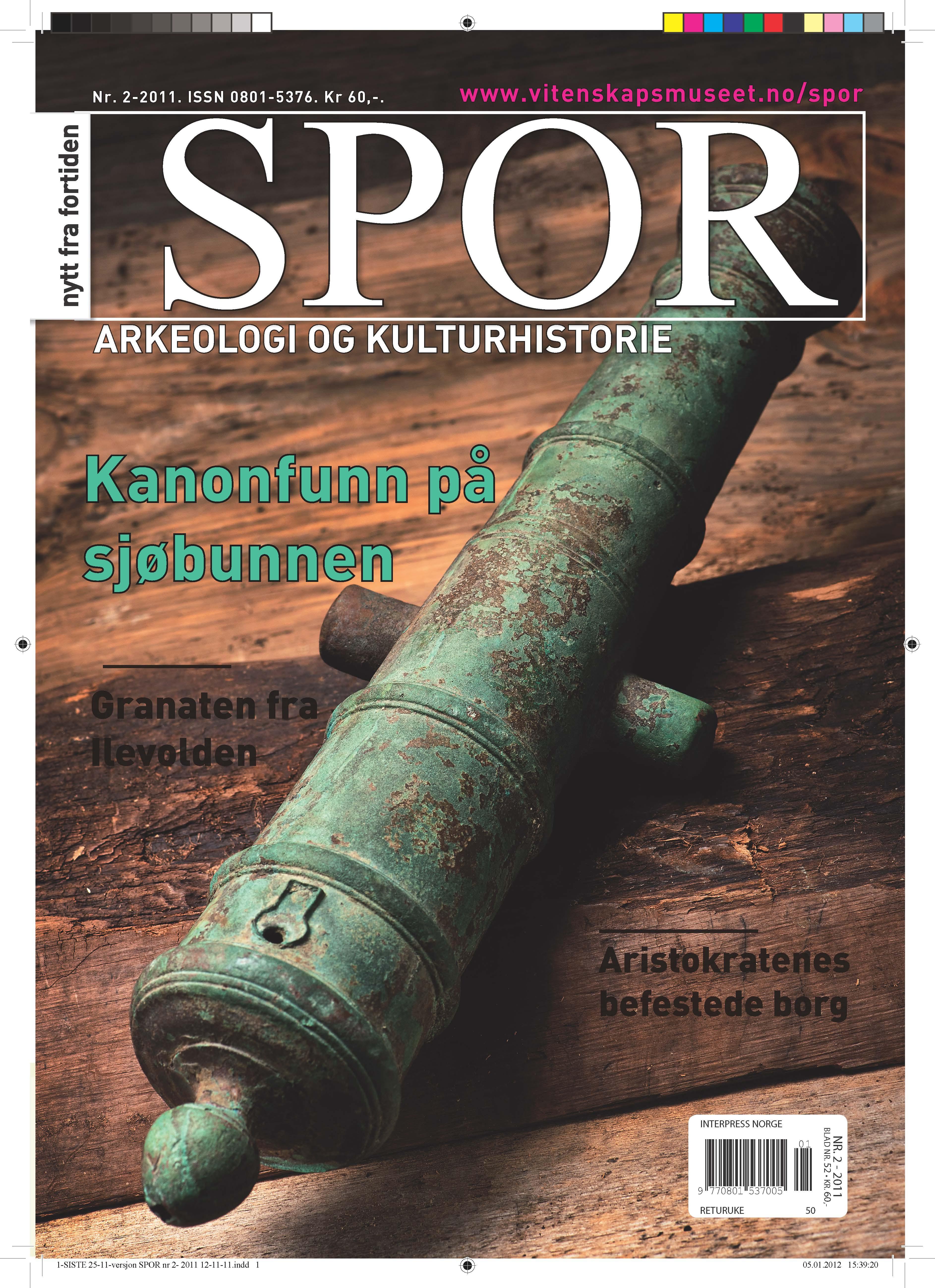Forsiden Spor 2-2011.