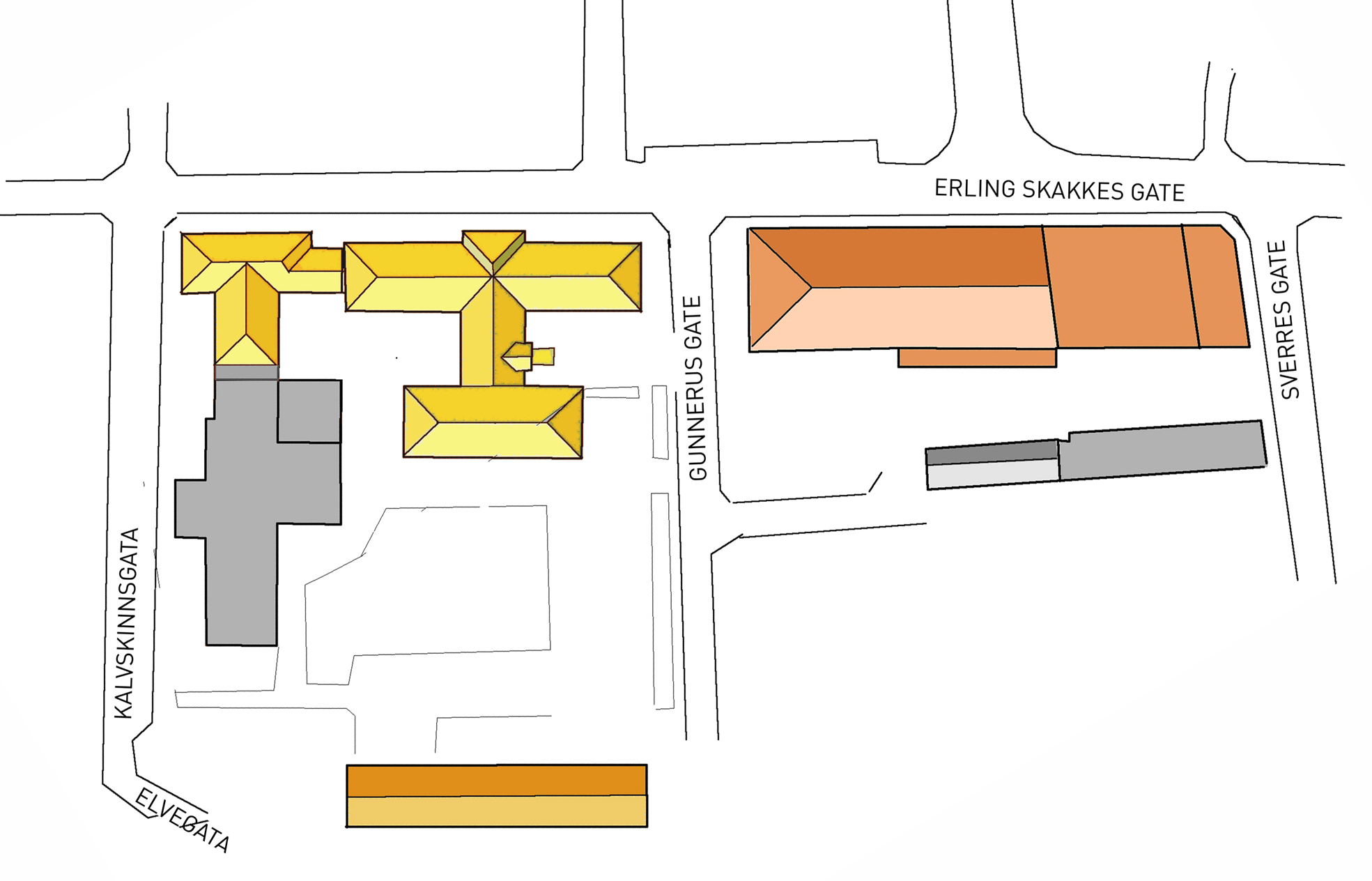 Map of campus.