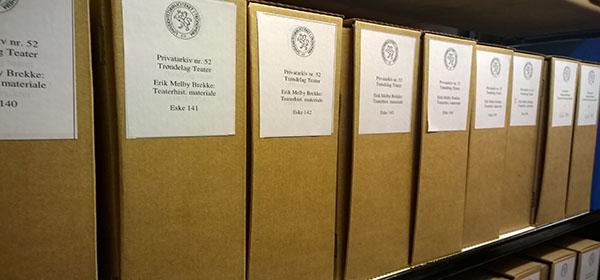 Historiske arkiv fra Trøndelag Teater