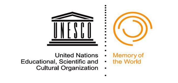 Logo fra UNESCO / Norges dokumentarv