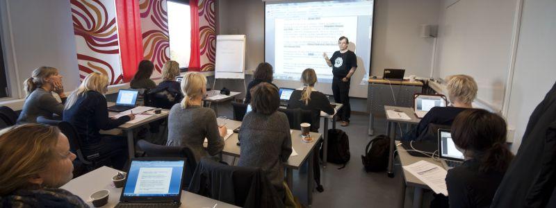 Bilde av klasseromsundervisning Foto: Nils K Eikeland/NTNU