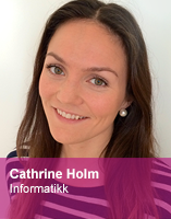 Cathrine Holm, intervju