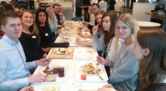 Lunch hos Silicon Labs