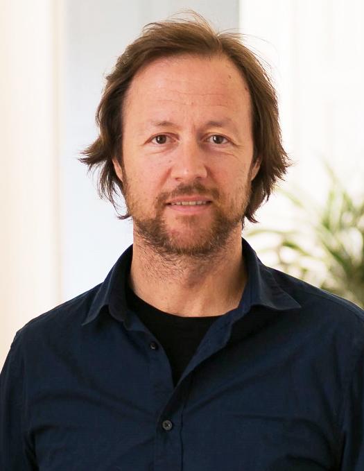 Portrett av Håvard Bustnes. Foto.
