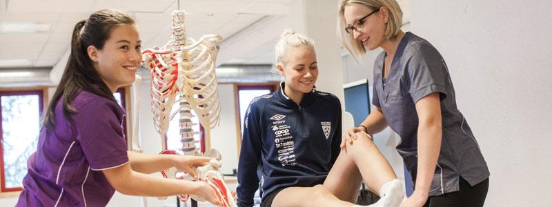 fysioterapiutdanning trondheim