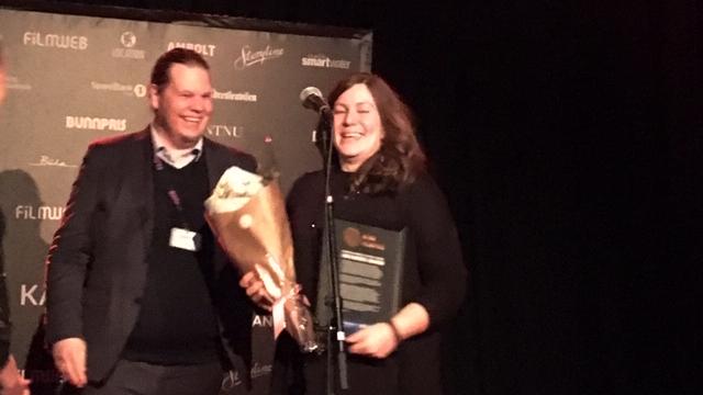 Produsent og regissør Line Klungseth Johansen er tildelt NTNU Filmpris 2019.