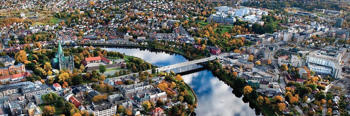Trondheim. Foto.
