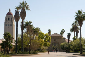 Campus ved Stanford University