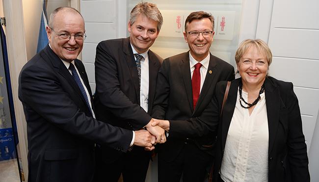 Gunnar Bovim, Bjørn Haugstad, Dag Rune Olsen, Unni Steinsmo
