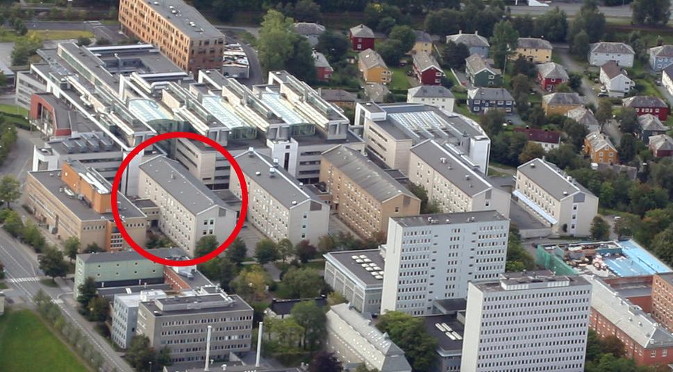 Chemistry Block 5 is the last of the chemistry blocks to be renovated. Photo: Lars Strømmen.