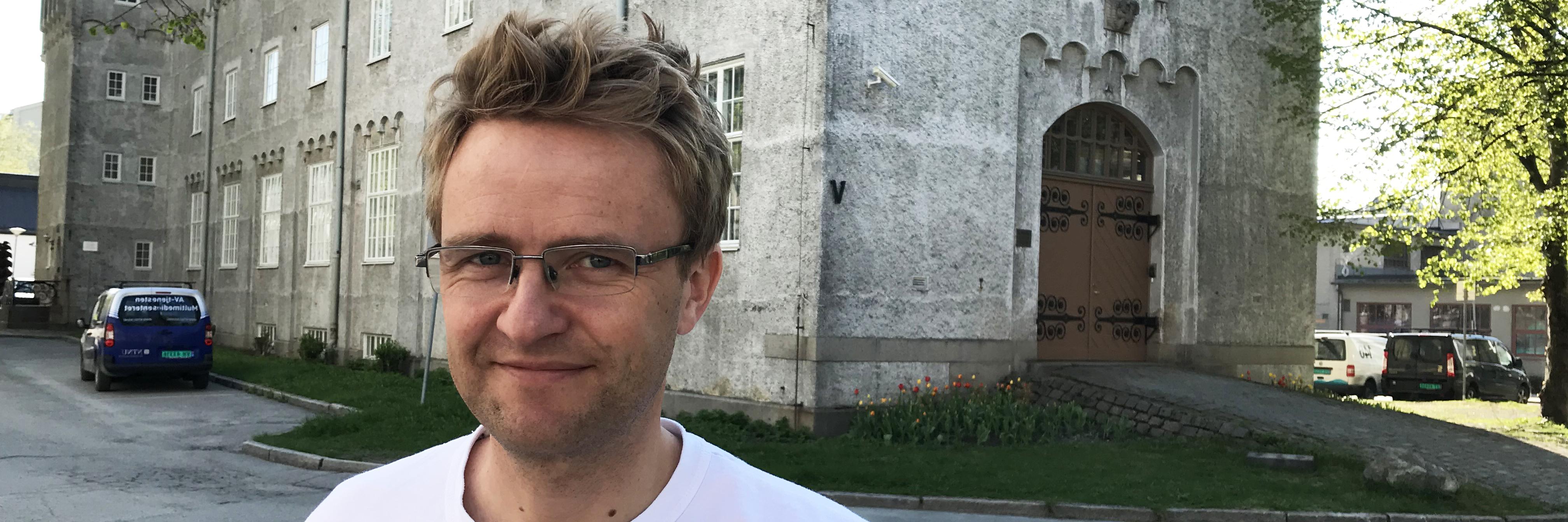 Miljørådgiver Christian Solli ved NTNU
