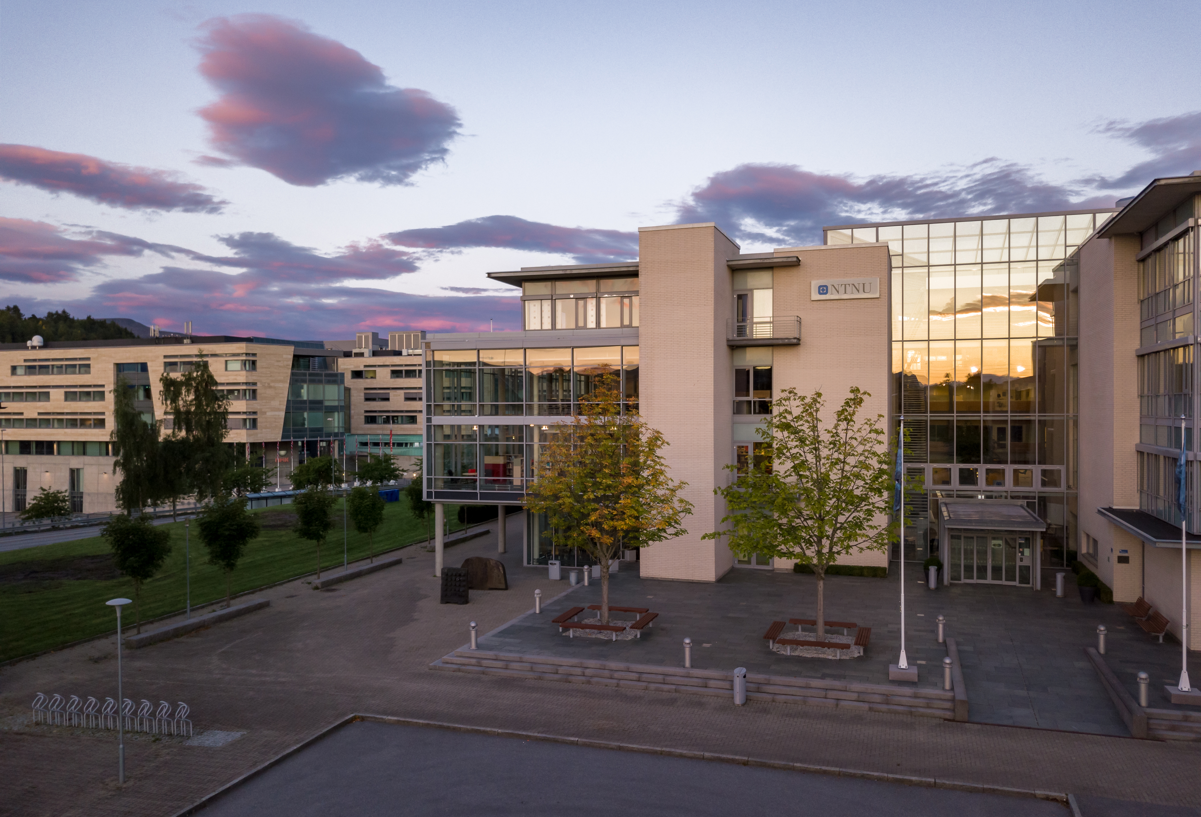 NTNU's campus in Ålesund.