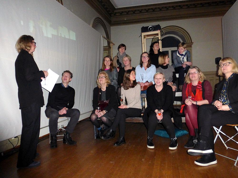 Medlemmer i kunstmangfold-nettverket på seminar i Bergen,