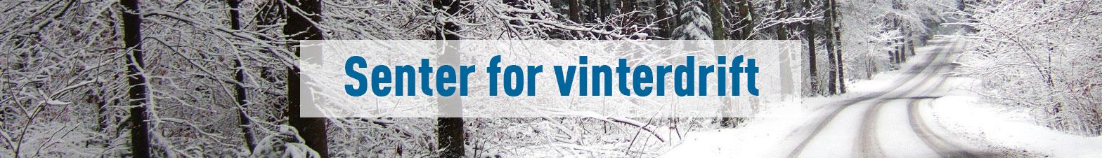 Banner senter for vinterdrift