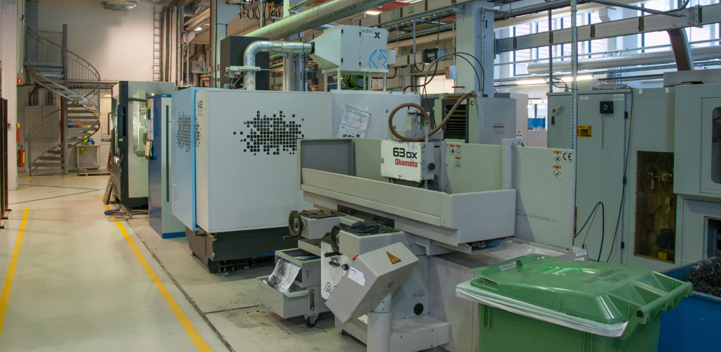 Laboratorium for automatisk maskinering/CNC