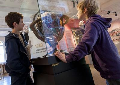 Jublieumsutstilling: 1760 – Vitenskap i verdens utkant, Vitenskapsmuseet. Foto: Åge Hojem/NTNU Vitenskapsmuseet