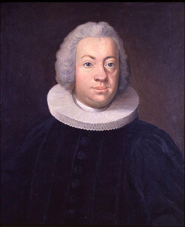 Portrett av Johan Ernst Gunnerus, DKNVS. Foto: NTNU Universitetsbiblioteket