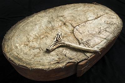 Runebomme fra Gunnerus til DKNVS i 1773. Foto: Åge Hojem/NTNU Vitenskapsmuseet