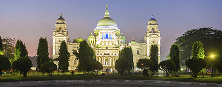 The Victoria Memorial, Kolkata, India. Photo: Colourbox