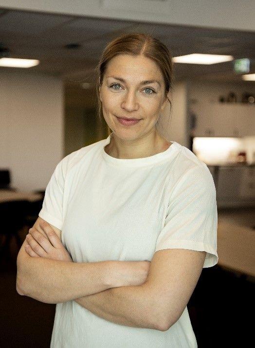Alumniportrett Anna Sara Fjeld