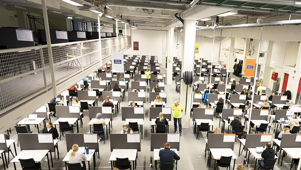 Exams Photo: NTNU