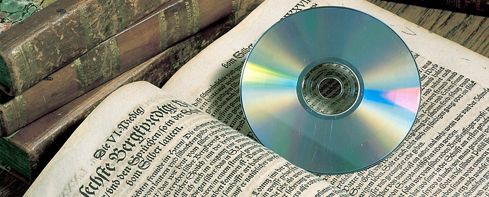 Old books and a CD