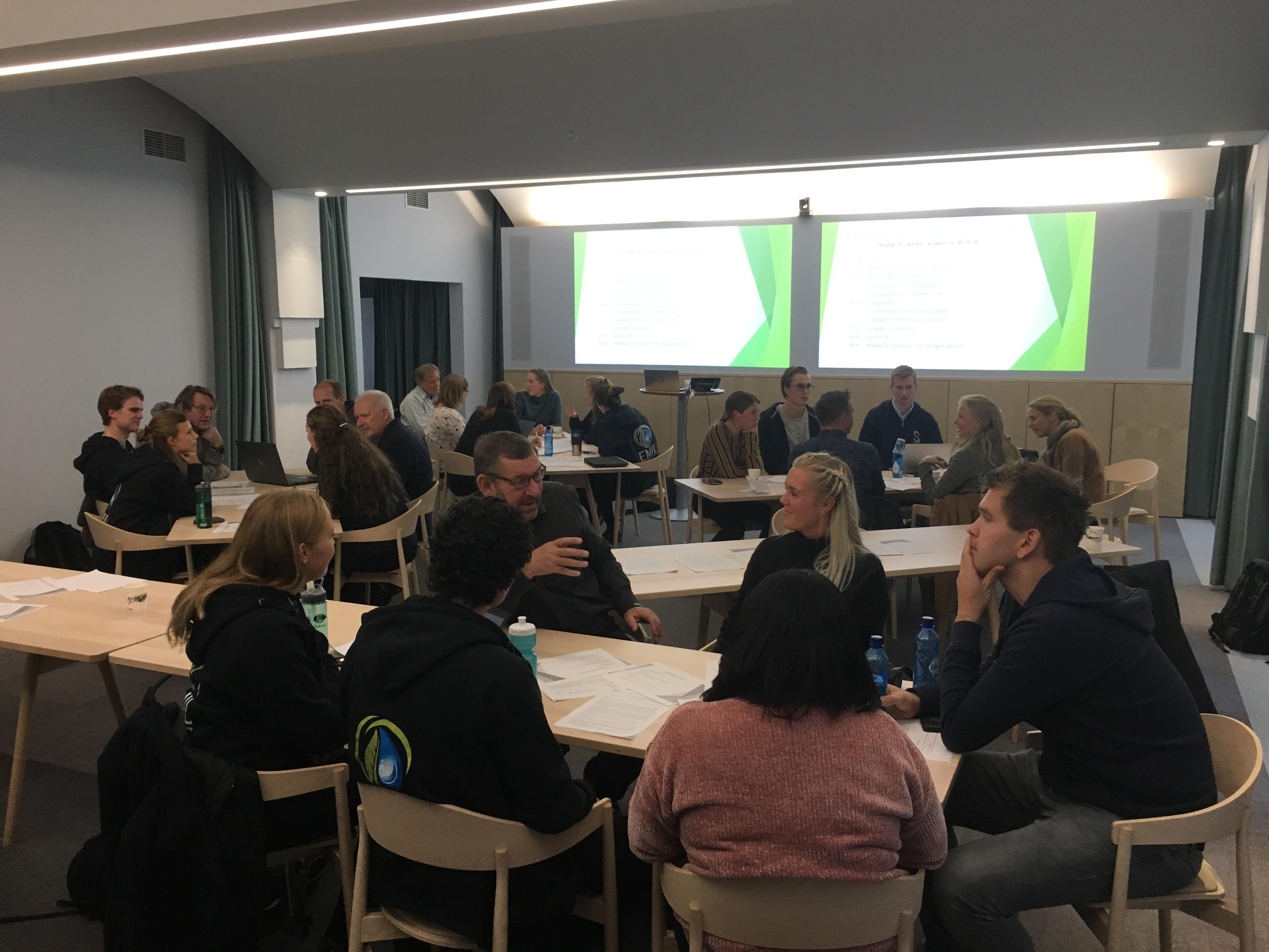 Gruppearbeid Medlemsmøte 2018