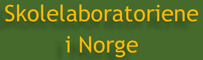 Skolelaboratoriene i Norge. Illustrasjon