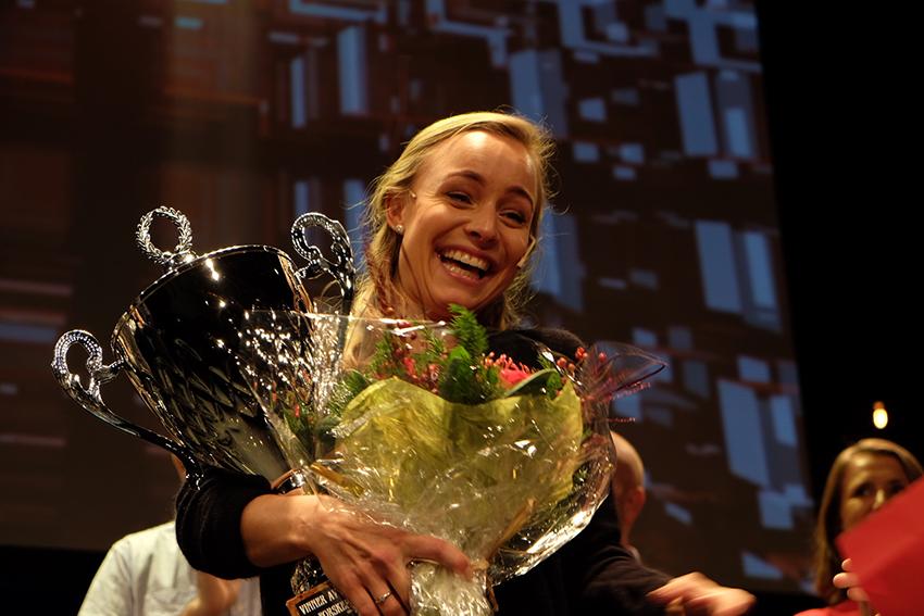 Forsker grand prix 2016. Vinner: Sofie Snipstad, NTNU