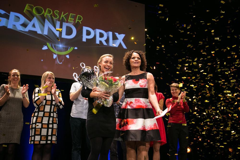 FGP 2016 i Bergen. Vinner: Sofie Snipstad, NTNU, og Nadia Hasnaoi