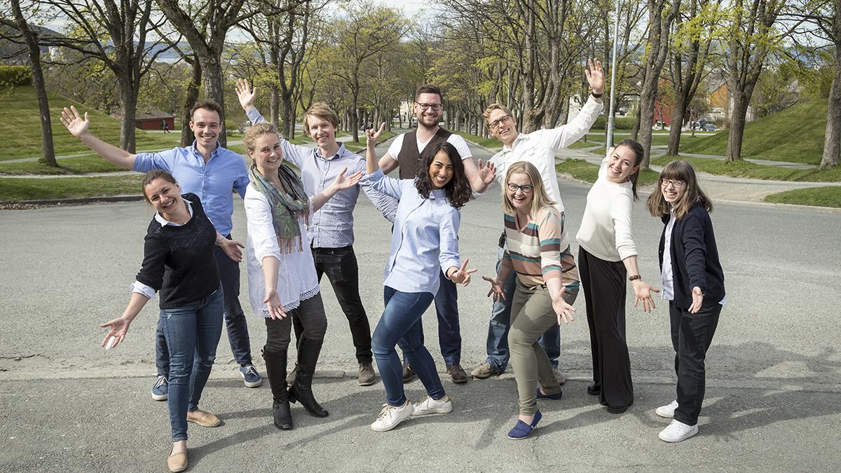 Deltakere Forsker Grand Prix 2017