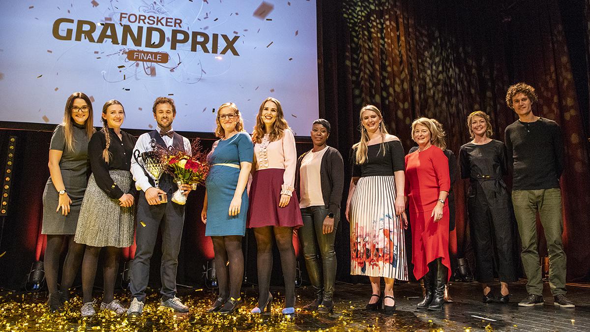 Forsker Grand Prix 2018, nasjoal finale i Tromsø 29. september