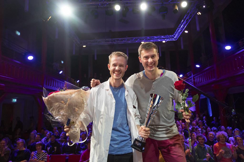 Daniel Vethe og Ola Gjønnes Grendal. Foto