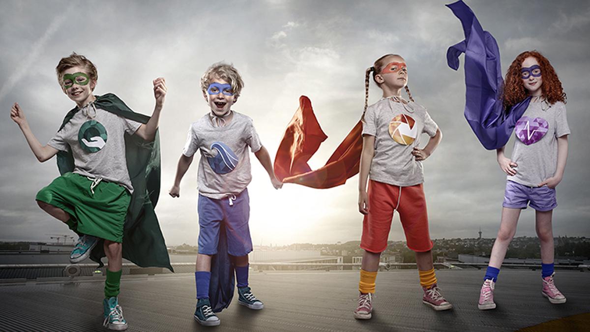 Ill.: Tematiske satsingsområder - superhelter