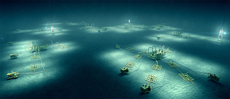 Subsea field overall perspective ©2015 Aker Solutions
