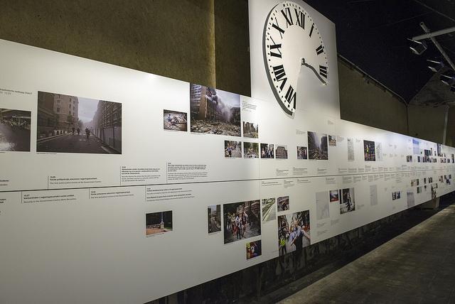 Utstillingen ved 22.juli-senteret, Oslo. Foto: Ann Kristin Lindaas /KMD