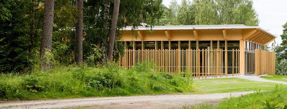Hegnhuset på Utøya. Foto: Jørgen Wathne