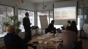 Prosjektplanlegging MINDGAP. Foto: Aud Mikkelsen Tretvik