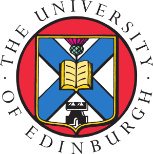 Klikkbar logo med lenke til The University of Edinburgh