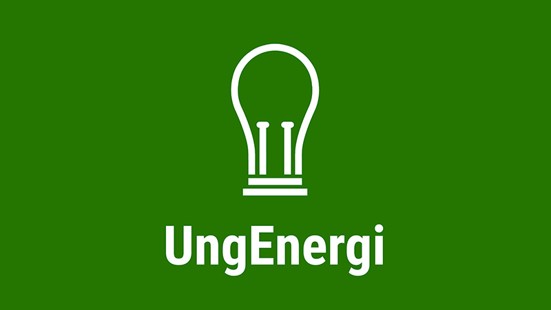 Logo, Ung energi, lyspære